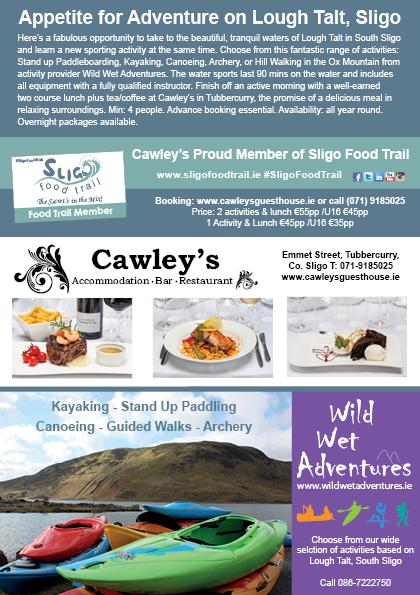 Sligo Food Trail Louge Talt Experience